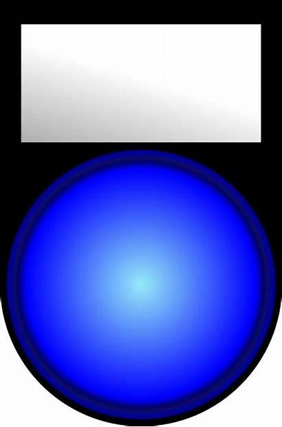 Voyant Bleu Allume Clip Onlinelabels