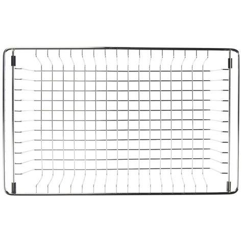 vigo 26 in x 14 375 in kitchen sink bottom grid vgg2514