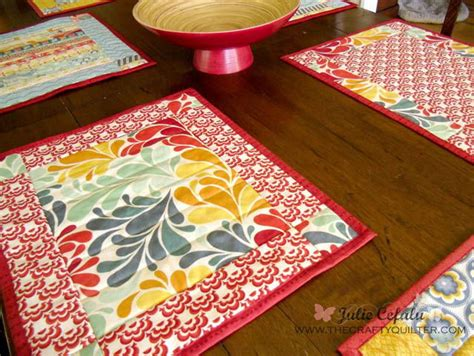 ladies  lunch placemat pattern favequiltscom