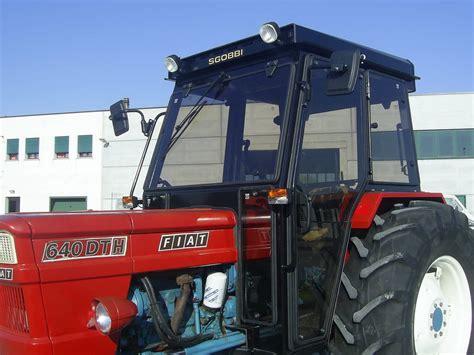 cabine usate per trattori trattori agricoli usati fiat 640