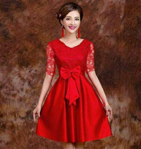 jual baju pesta modern 2017 gaun pesta modern gaun pesta elegan dress promo di lapak