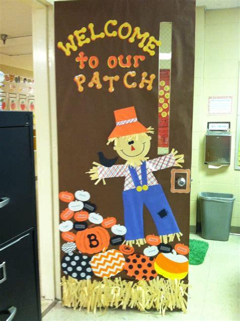 fall door classroom decor pinterest fall door