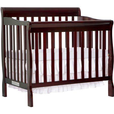 on me mini crib on me aden 4 in 1 convertible mini crib espresso