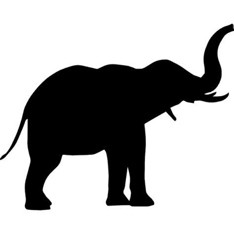 si鑒e free elefanten seitenansicht der kostenlosen icons