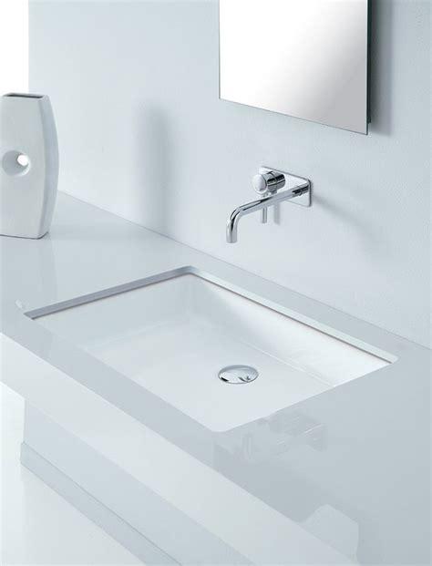 vasque a coller sous plan vasques salle de bains