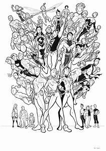 Legion, Of, Superheroes, By, Bevismusson, Deviantart, Com, On, Deviantart