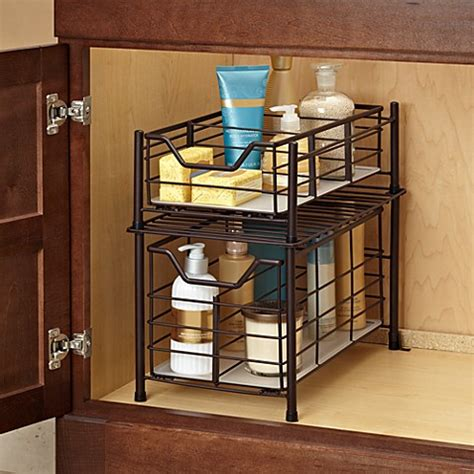 deluxe bathroom cabinet drawer  bronze www