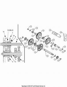 Mtd 31as6fee729  2005  Parts Diagram For Drive Shaft Threaded 753