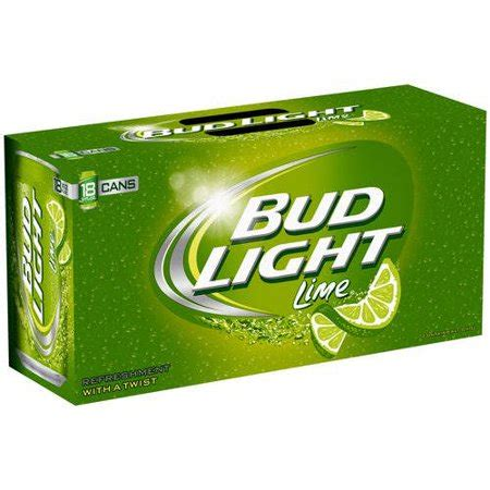 18 Pack Bud Light by Bud Light Lime 18 Pack 12 Fl Oz Walmart