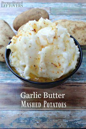 garlic butter mashed potatoes recipe