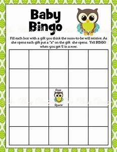 printable boy owl woodland baby shower bingo game bee With free printable baby shower bingo template