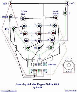 Belajar Service Hp  Skema Jalur Joystik  U0026 Kypad 6600