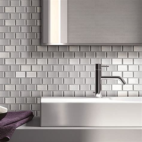 ecoart peel  stick  adhesive wall tile  kitchen