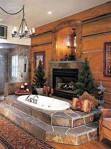 15, Examples, Of, Opulence, And, Elegance, Bathrooms, With, Fireplace