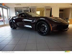 2017 Black Rose Metallic Chevrolet Corvette Grand Sport ...