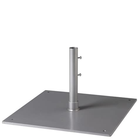 steel plate base 24 quot square 1 5 quot pole free standing