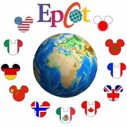 Epcot Clipart Disney Disneyworld Kingdom Mickey Head