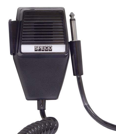 Speco DM-520P Push to Talk CB/Handheld Microphone with ...