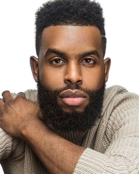 Best Black Men Beard Styles Images On Pinterest Black