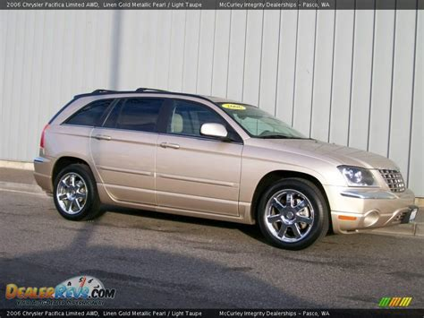 2006 Chrysler Pacifica Limited by 2006 Chrysler Pacifica Limited Awd Linen Gold Metallic