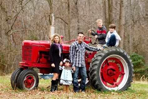 families   country   big red tractor