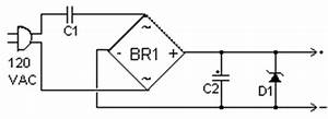 how to build transformerless power supply circuit diagram With 120vac or 240vac powered leds circuit diagram