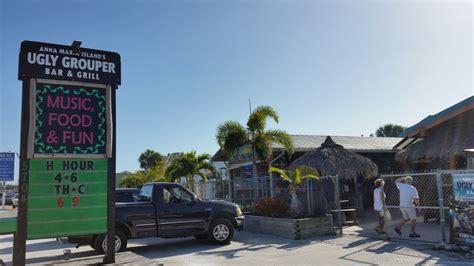 ugly grouper anna maria island beach bar wade tatangelo holmes marina drive addition tab unravel