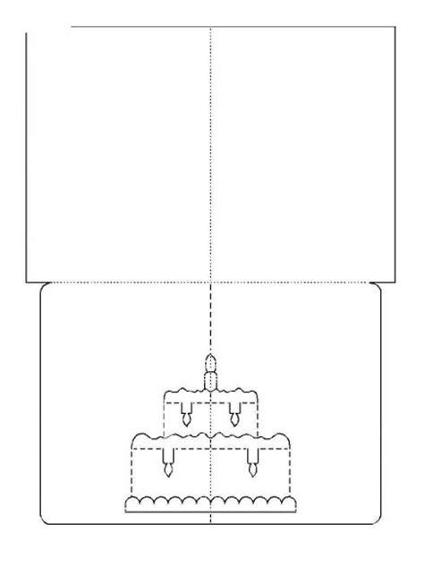 kirigami diy greeting cards  templates
