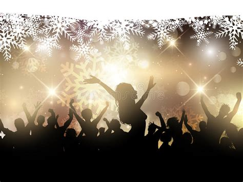 Christmas Party Background Stock Vector