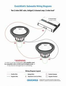 Subwoofer Wiring Diagrams Dual Voice Coil Free Diagram For 1 Ohm