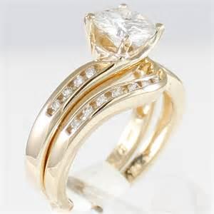 moissanite engagement rings gold moissanite engagement rings 1 5 carat 7 5mm moissanite swirl ring w diamonds wedding