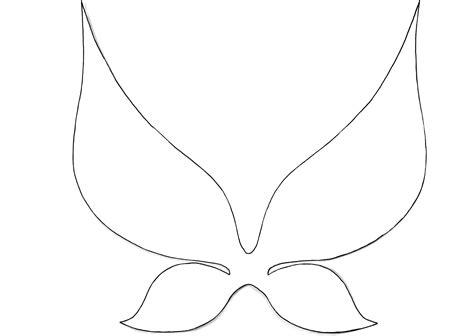 wings template every needs wings simple wings diy fairies co