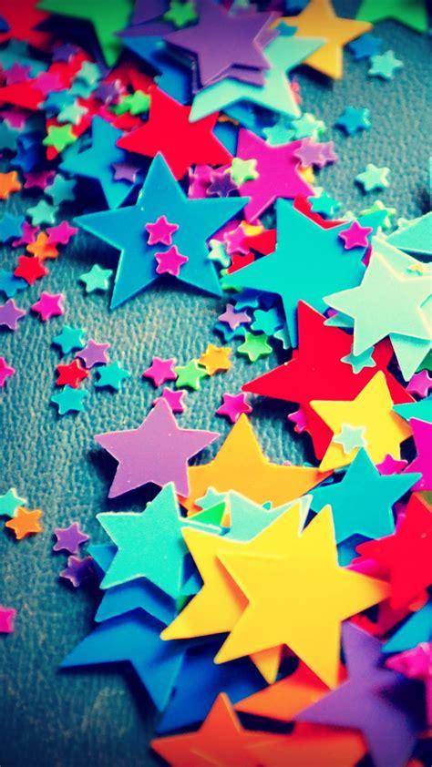 wallpaper colorful stars paper stars craft hd creative