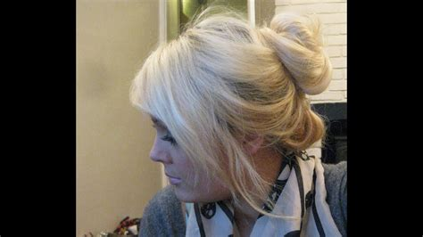A With Hair by How To Hair Bun Using Halo Hair Extensions