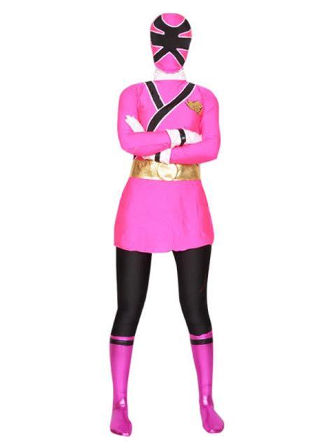 Spandex superhero costumes
