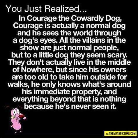 courage  cowardly dogs real story