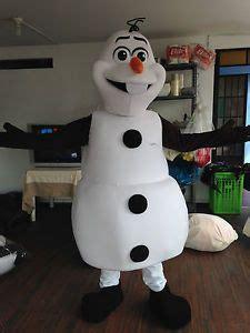 realistic  homemade snowman costume