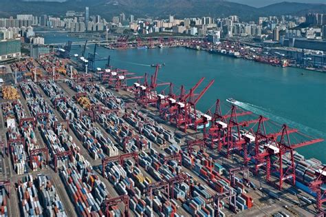 hong kong outlines congestion master plan port technology international