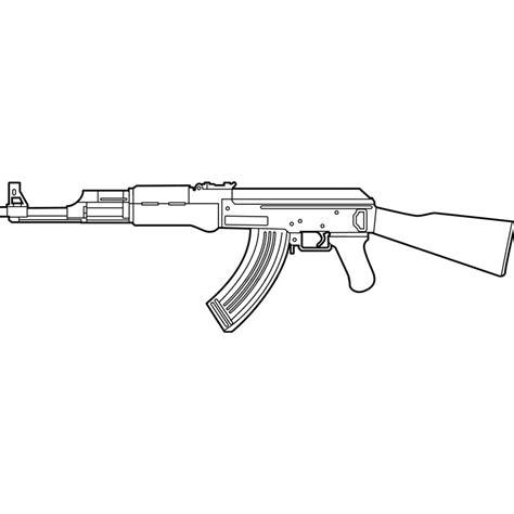 Ak 47 Clipart Ak47 Drawings In Pencil Www Pixshark Images
