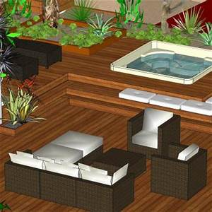 terrasse avec spa With amenagement terrasse avec spa