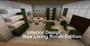 Minecraft Interior Design (Living Room Ikea edition ...
