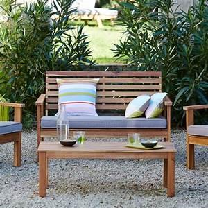 Mobilier Jardin Bois : meubles bois jardin terrasse accueil design et mobilier ~ Premium-room.com Idées de Décoration