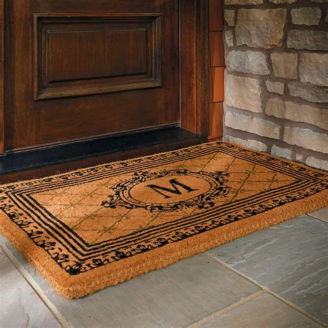 Front Door Mats by Coir Outdoor Door Mat Frontgate