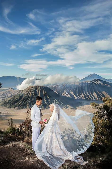 destinasi foto prewedding  indonesia  keren  romantis