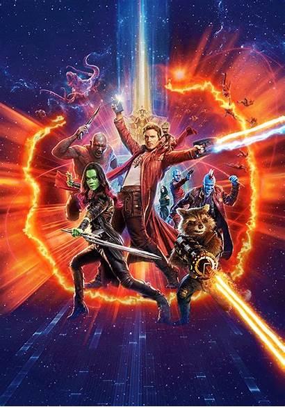 Poster Animated Galaxy Posters Guardians Film Kodi