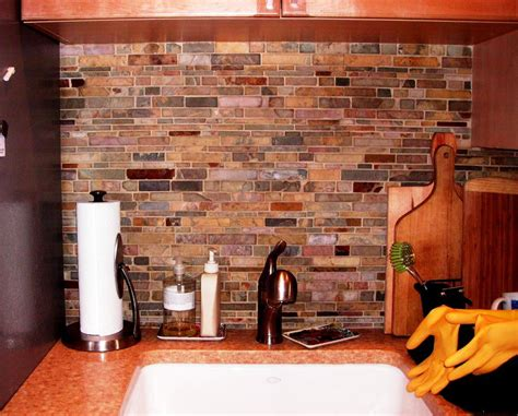 slate backsplash in kitchen pictures pros and cons of a