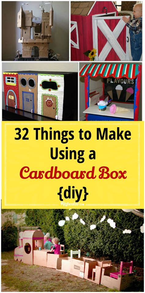 things to cook a 32 things to make using a cardboard box diy tip junkie