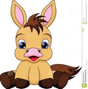 Cartoon Baby Horse Clip Art