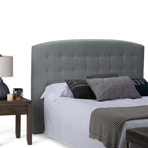 Simpli Home Alana Cool Grey Queen Headboardaxchbr03cg