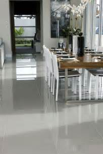 white gloss kitchen ideas 30 practical and cool looking kitchen flooring ideas digsdigs